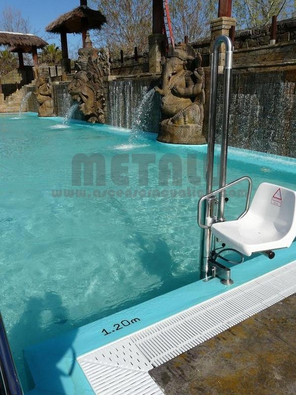 Elevador de piscinas Metalu Pk