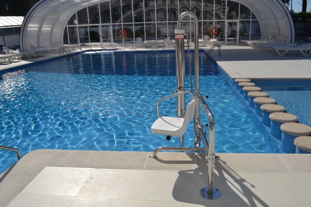 Elevador hidráulico de piscinas Metalu B-2