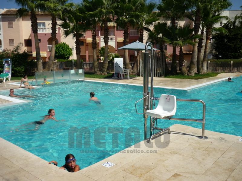 Elevador de piscinas Metalu B-2