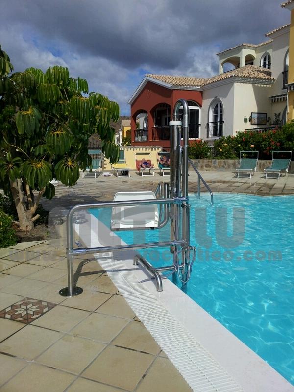Elevador hidraulico Metalu B-2, Gran Canaria