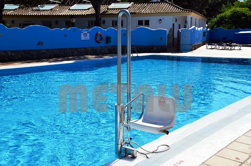 Elevador hidraulico Metalu Pk, Camping Caños de Meca